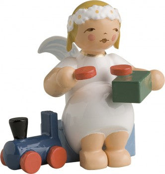 Marguerite Angel Crafting Toy Train
