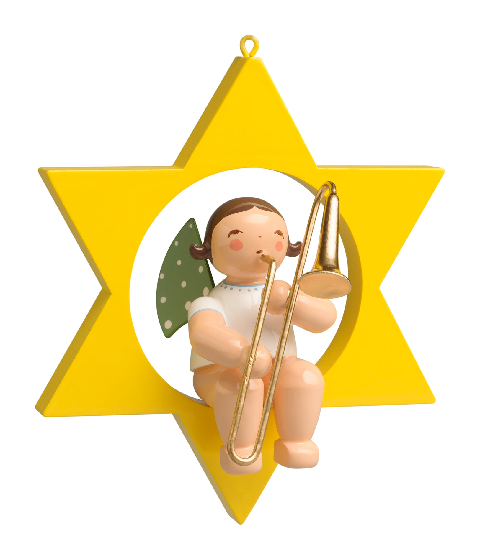 Angel in a Star with Trombone - New 2019