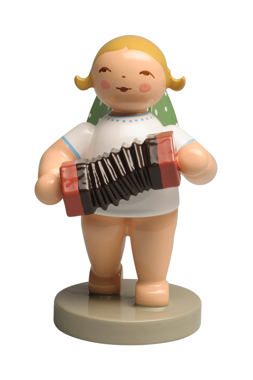 Angel Orchestra Musician with Concertina / New March 2019