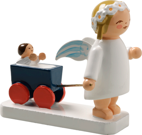 Marguerite Angel with Carriage / Wagon