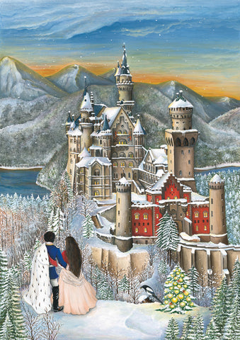 Neuschwanstein Castle Advent Calendar