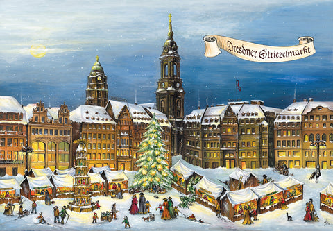 Dresden Strielzmarkt Advent Calendar