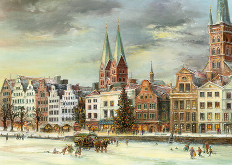 Lübeck Christmas Market Advent Calendar