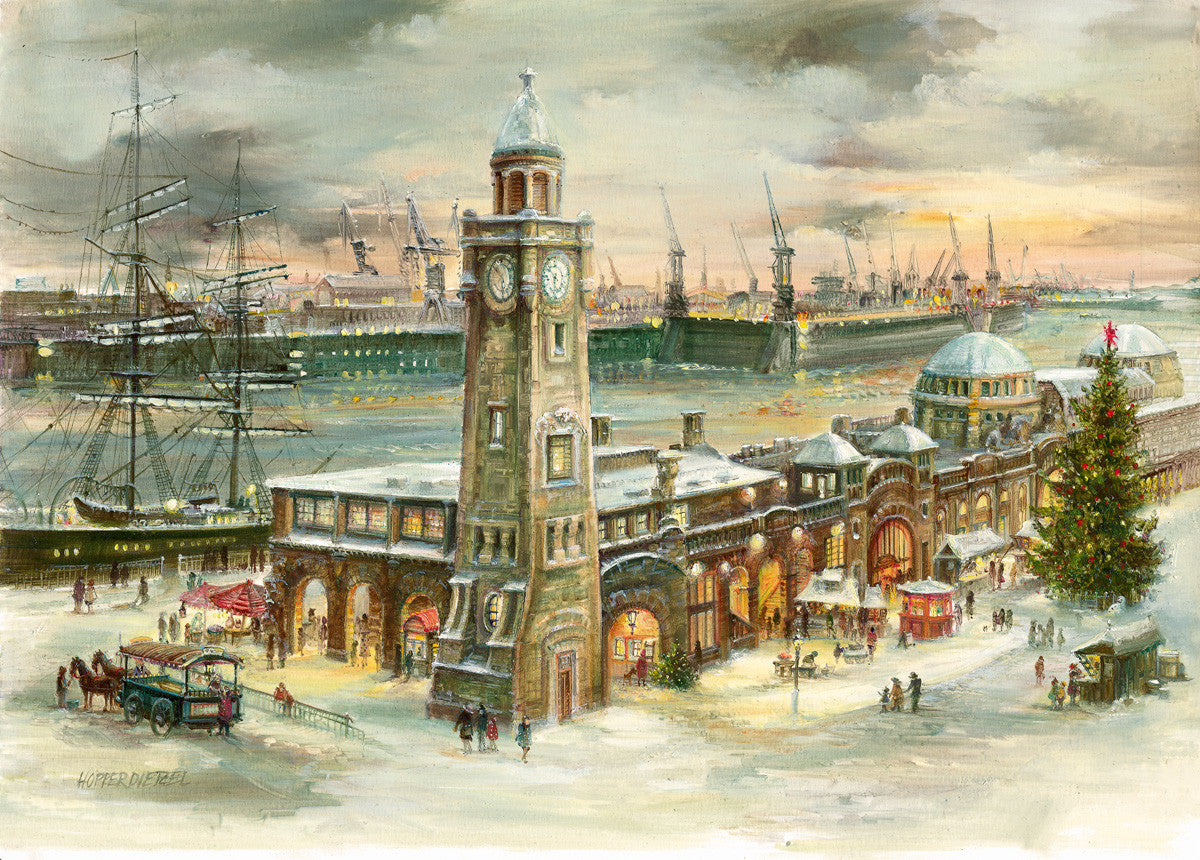 Hamburg St. Pauli Piers Advent Calendar