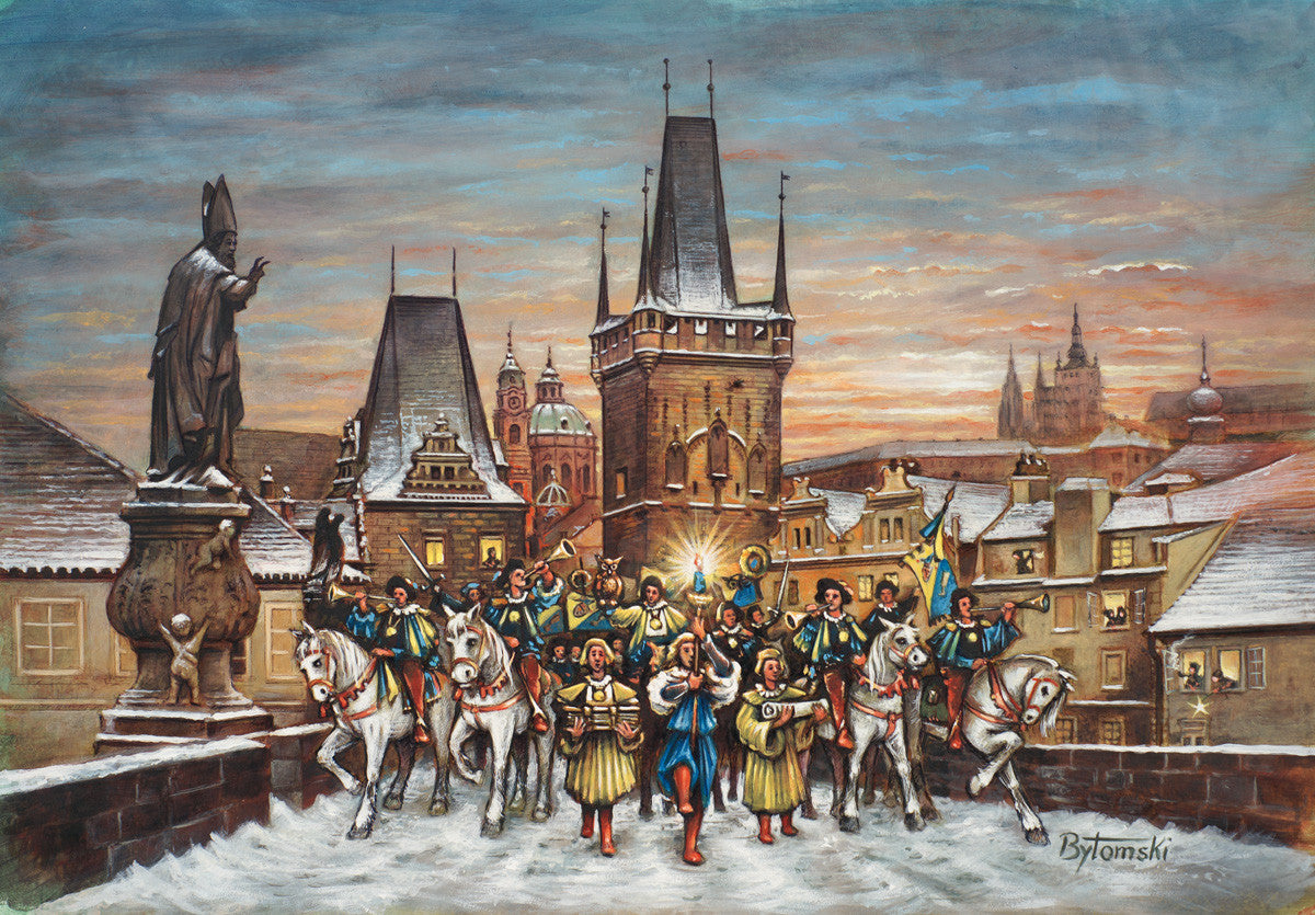 Prague, Czech Republic, Advent Calendar
