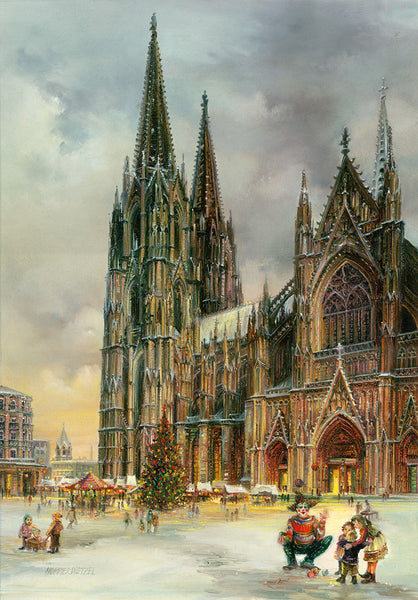 Cologne/ Köln Cathedral Advent Calendar