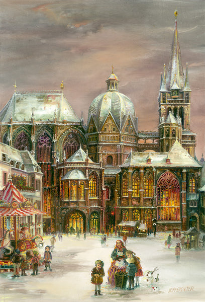 Aachen Cathedral / Dom Advent Calendar - Retired 2018