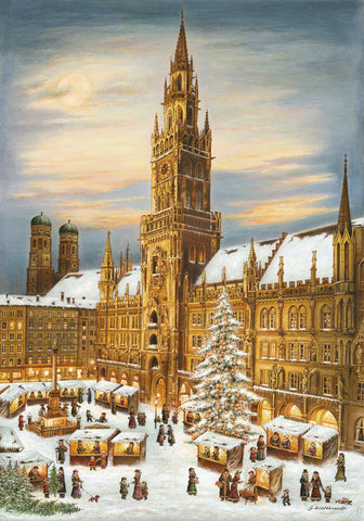 Munich Rathaus Advent Calendar