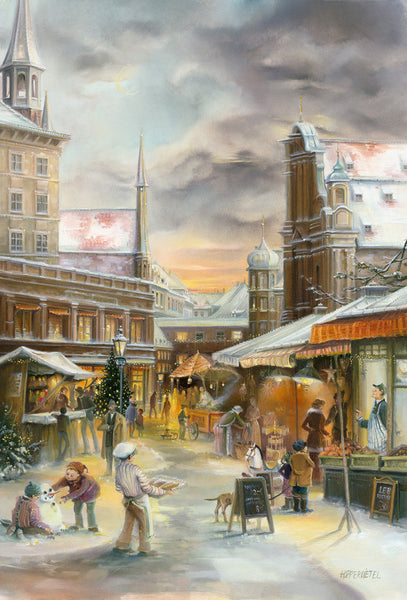 Munich Viktualienmarkt Advent Calendar