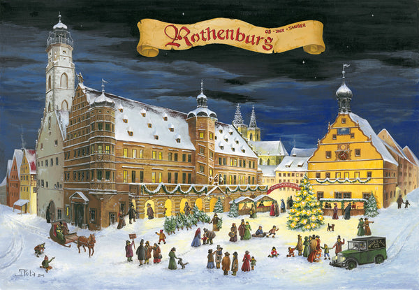 Rothenburg ob der Tauber Advent Calendar