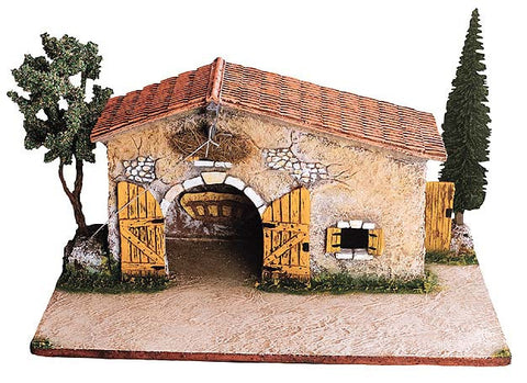 SALE - SAVE 30%: Stable with Trees -– Étable No. 2 bis avec arbres - Size # 2 / Elite