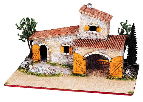 Provencal Farmhouse / Stable with Trees -– Mas Provençale No. 2 - Size #2 / Elite