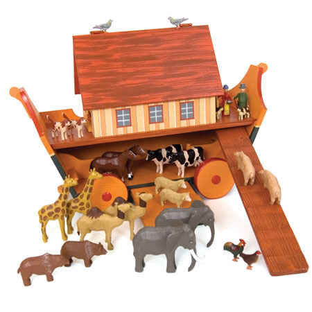 Noah's Ark with Animals / Size Large