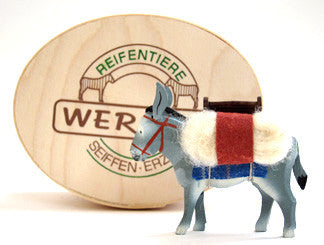 Christian Werner Pack Donkey with Wood Chip Gift Box