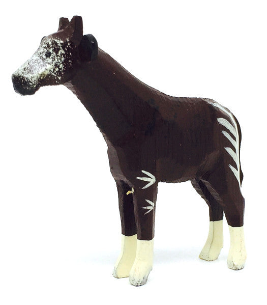 "Okapi, hand-carved - 2-1/2"" / Size Large"