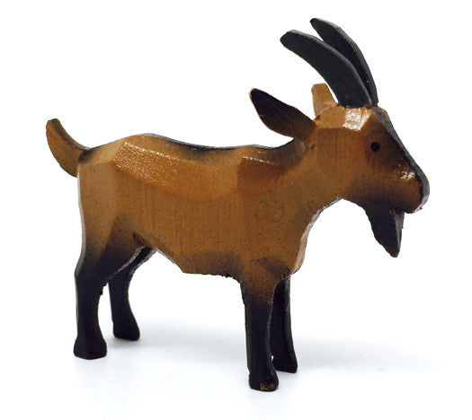 "Goat, hand-carved - 2"" / Size Large"