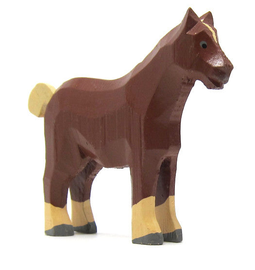 "Work Horse, hand-carved - 3-1/8"" / Size Large"