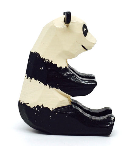 "Panda (Female), hand-carved - 2"" / Size Large"