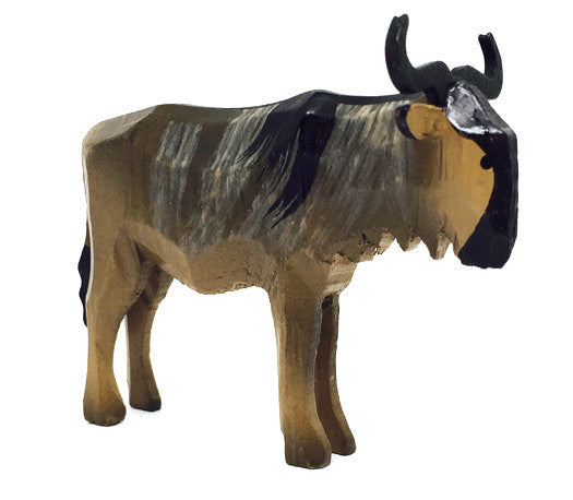 "Gnu, hand-carved - 1-1/2"" / Size Large"
