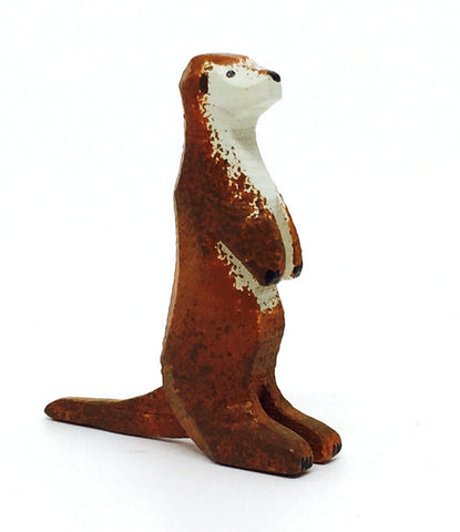 "Otter, hand-carved - 1-5/8"" / Size Large"