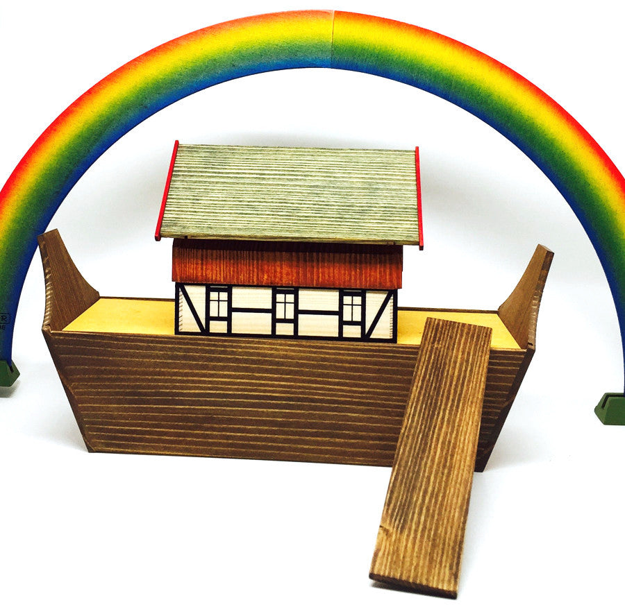 Noah's Ark / Size Small / Ark Only - Choose Your Animals Separately