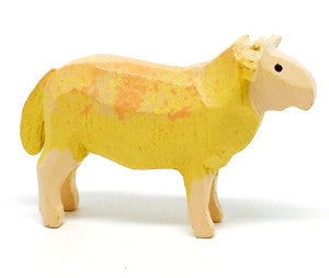 "Ewe (Female Sheep), hand-carved - 1"" / Size Small"
