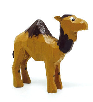 "Camel, hand-carved - 1-3/4"" / Size Small"