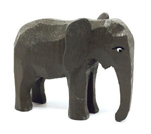 "Elephant (Female), hand-carved - 2"" / Size Small"