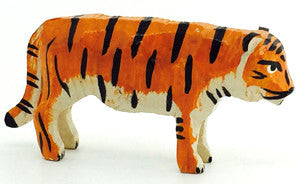 "Tiger, hand-carved - 1"" / Size Small"