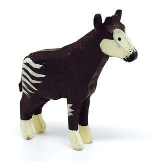 "Okapi, hand-carved - 1-1/2"" / Size Small"