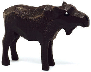 "Moose (Female), hand-carved - 2"" / Size Small"