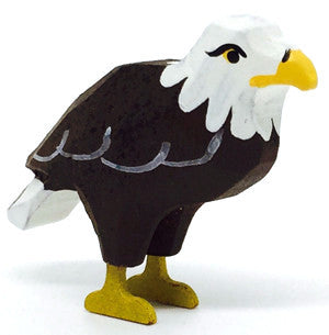 "Bald Eagle, hand-carved - 1-3/8"" / Size Small"