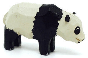 "Panda (Male), hand-carved - 1"" / Size Small"