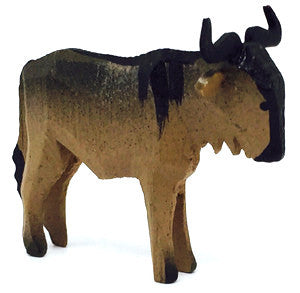 "Gnu, hand-carved - 1-3/8"" / Size Small"