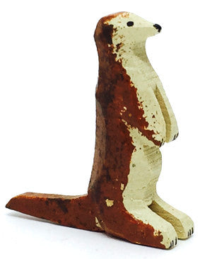 "Otter, hand-carved - 7/8"" / Size Small"