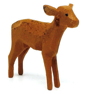 "Roe Deer (Female), hand-carved - 1-1/2"" / Size Small"