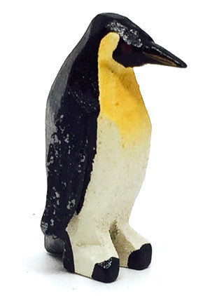 "Penguin, hand-carved - 1-1/8"" / Size Small"