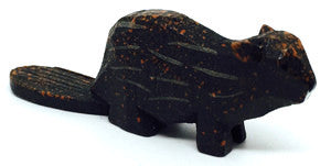 "Beaver, hand-carved - 5/8"" / Size Small"