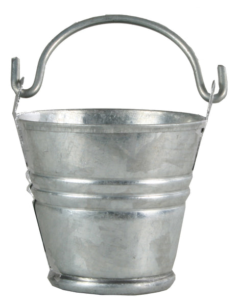 "Tin Pail - 3/4"" tall"