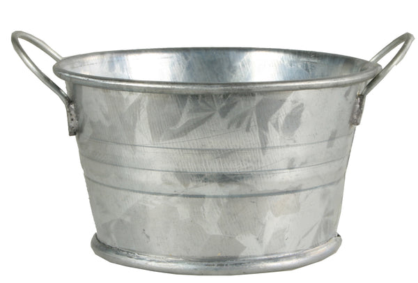 "Metal Wash Tub - Round - 1"" tall"