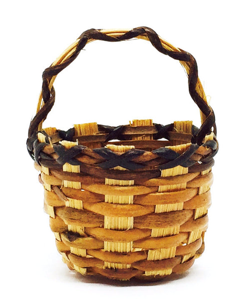 "Basket, Brown - 2"" tall"