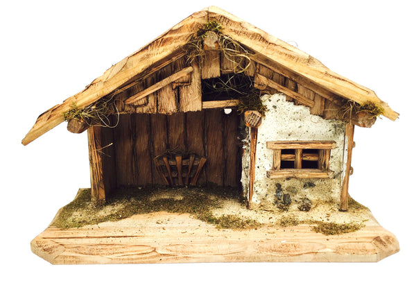 "Bavarian Stable - 10"" Tall"