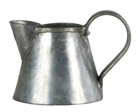 "Tin Pitcher - 3/4"" tall"