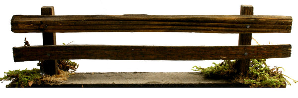 "Wooden Fence - 6-1/2"" long"