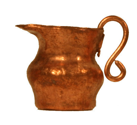 "Copper Pitcher - 1/2"" tall"