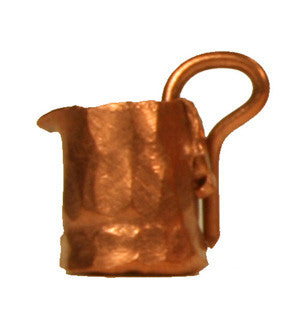 "Copper Mug - 1/4"" tall"