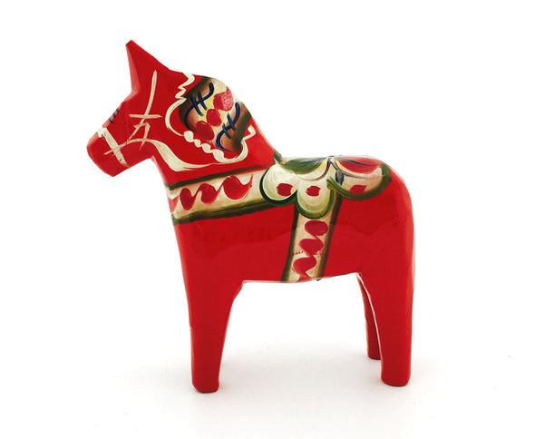 Classic / Original Red Dala Horse - 4""
