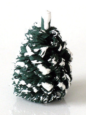 Snow-capped Shaved, Wood Evergreen, 1-1/2""