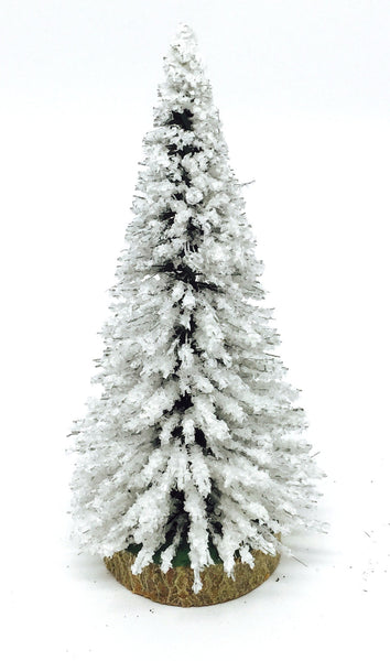 Snow-Covered Evergreen - Christmas Tree - 5-3/4""