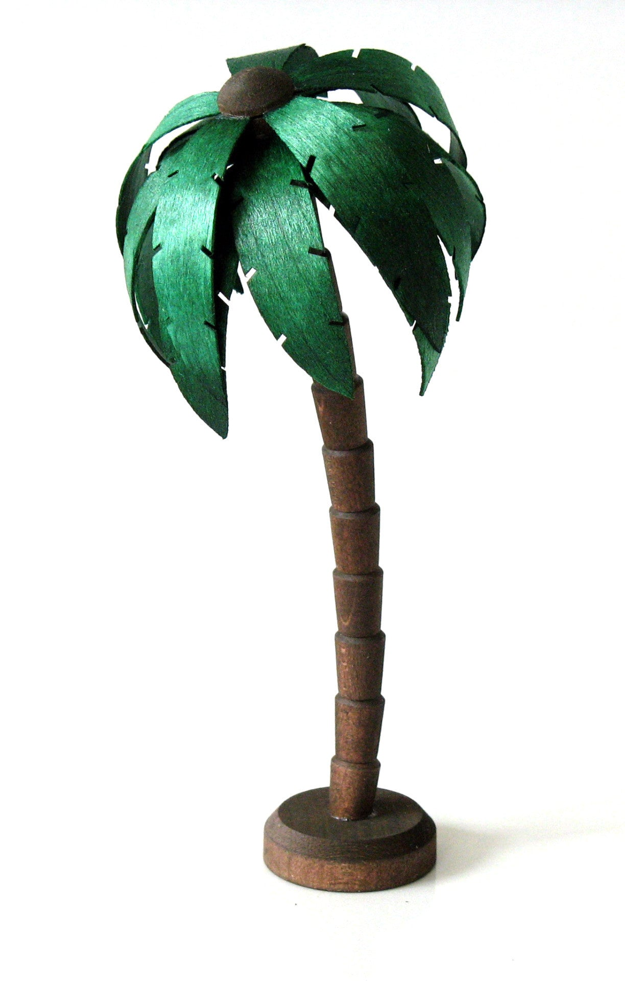 Wood Palm Tree, 6""